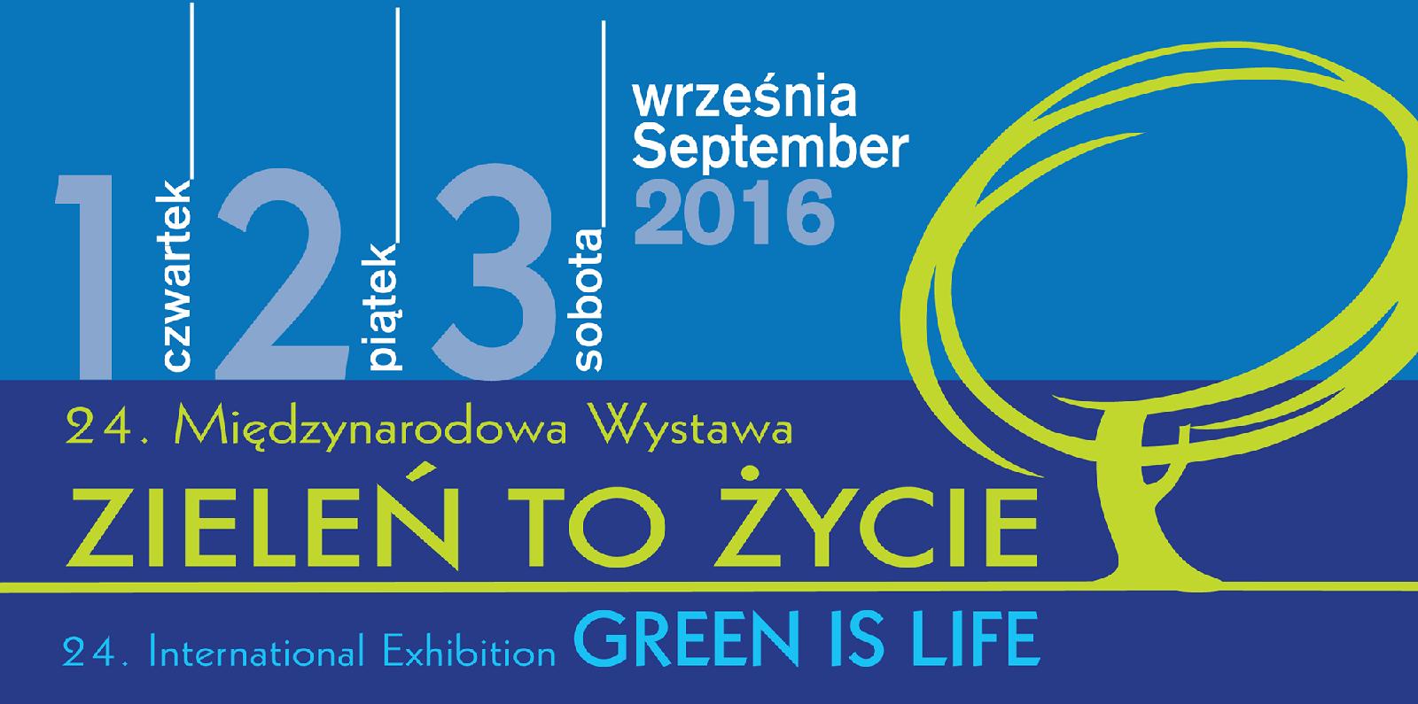 Spotkajmy się na Wystawie Zieleń To Życie 2016