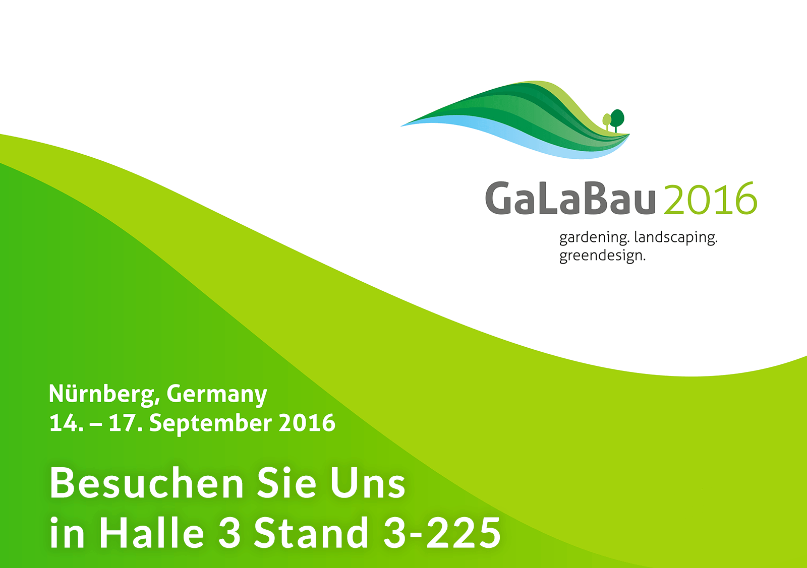 Gardenphilia.com auf der GaLaBau Messe 2016