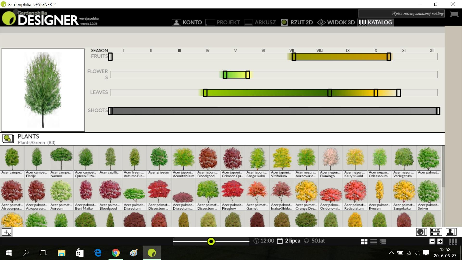 Nowy edytor roślin (wkrótce)