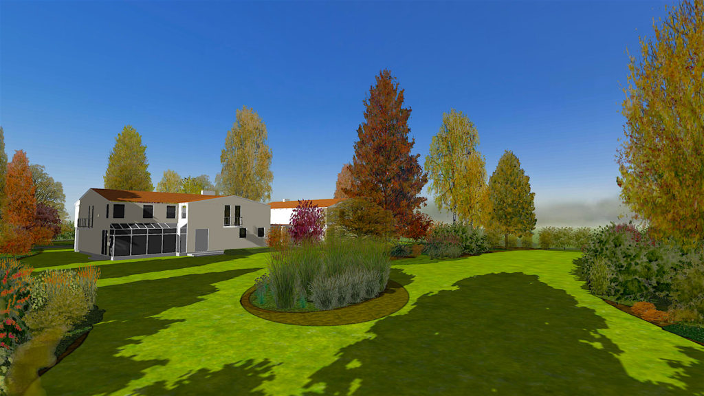 profesjonalnym programie do projektowania i wizualizacji ogrodów 3D Gardenphilia DESIGNER