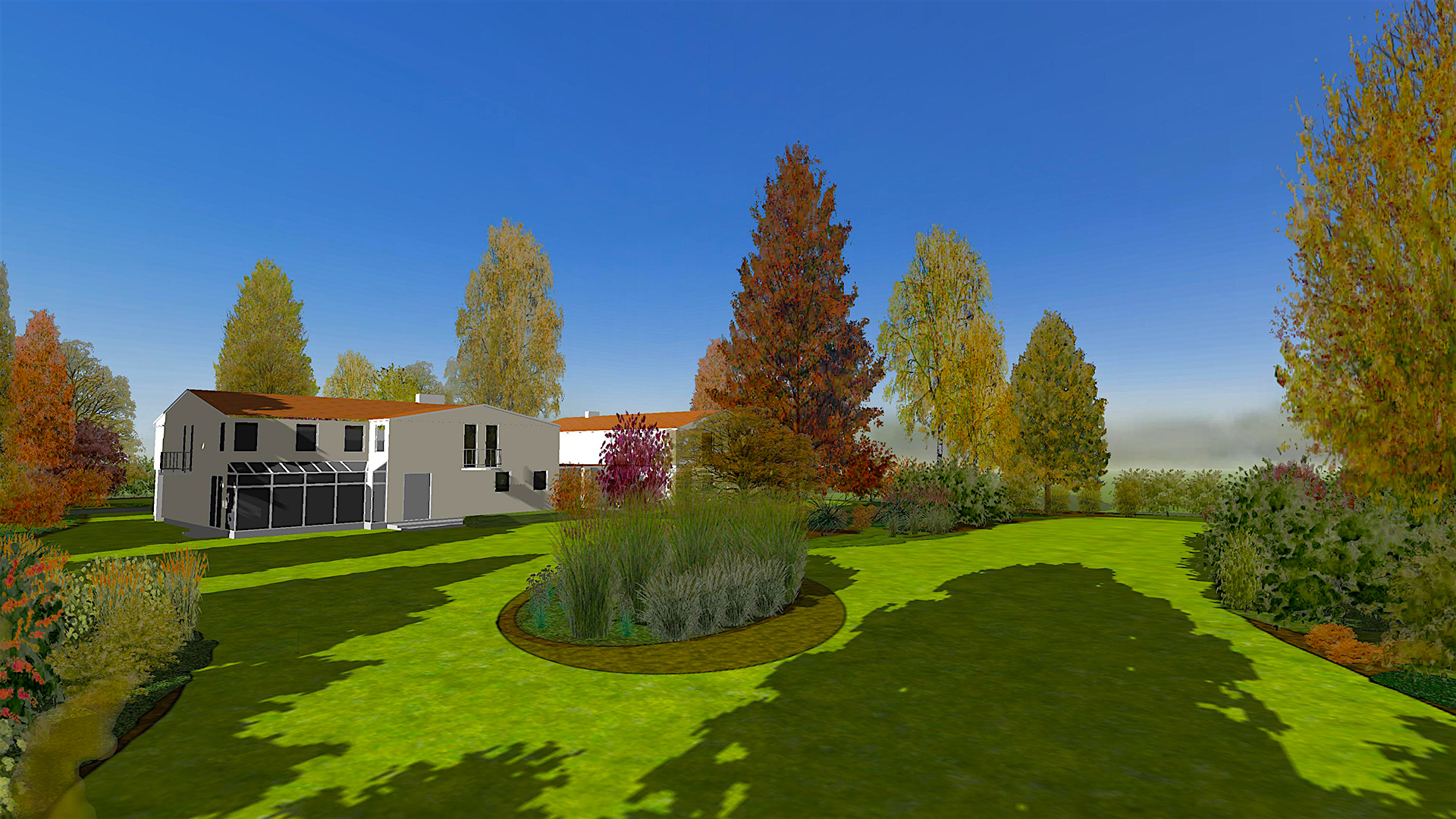 Gardenphilia DESIGNER software for professional garden 3D design and visualization