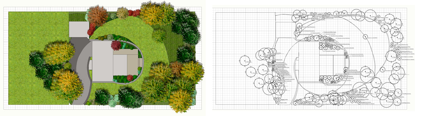 Gardenphilia DESIGNER professional software for garden and landscape 3D design