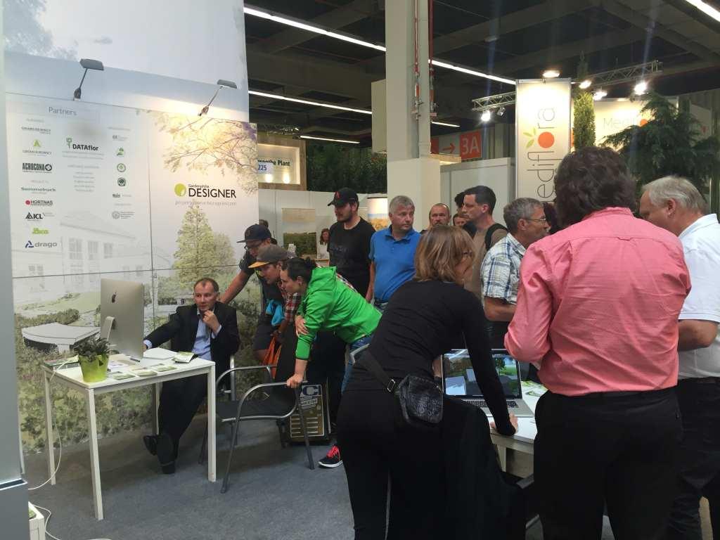 Debüt des Programms Gardenphilia DESIGNER in Deutschland an der GaLaBau