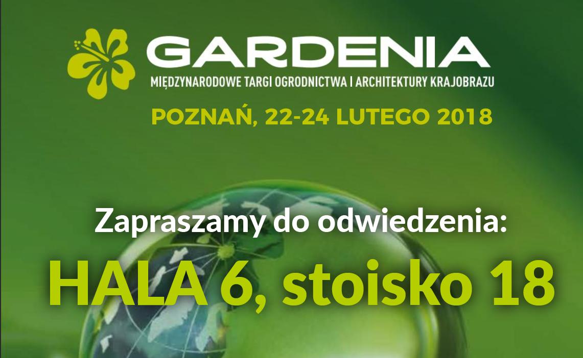 Stoisko i prelekcja na Targach Gardenia 2018