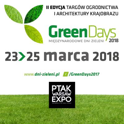 Stoisko na Targach Green Days 2018