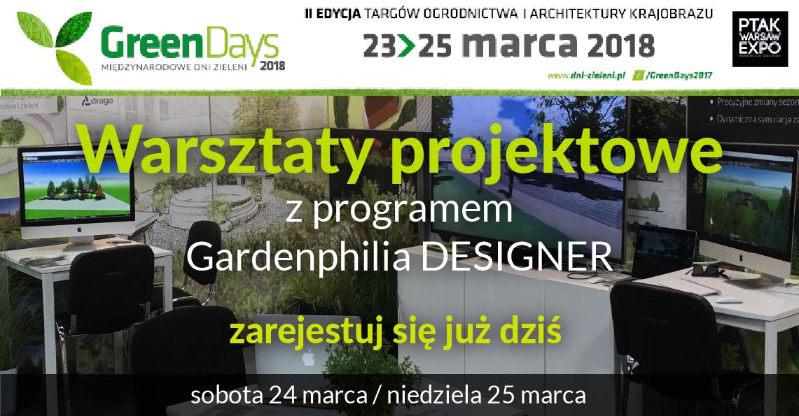Warsztaty projektowe podczas Green Days 2018